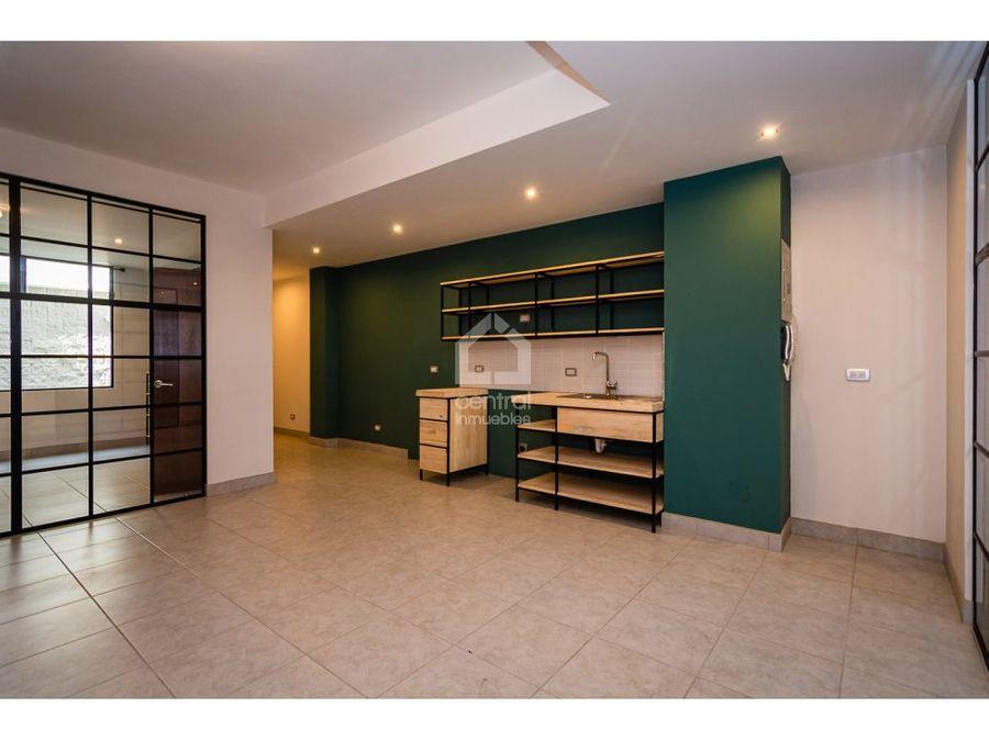 apartamento nuevo de 2 habitaciones en alquiler zona 6