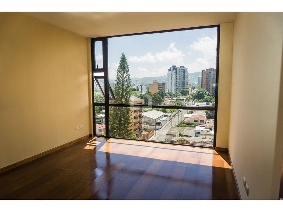apartamento con buenas vistas en zona 10
