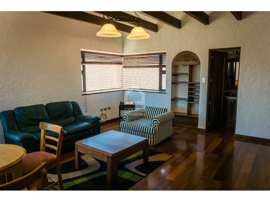 apartamento estudio en torre castelar zona 10
