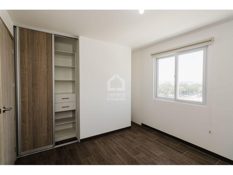 apartamento nuevo de 3 habitaciones en alquiler vistares zona 12