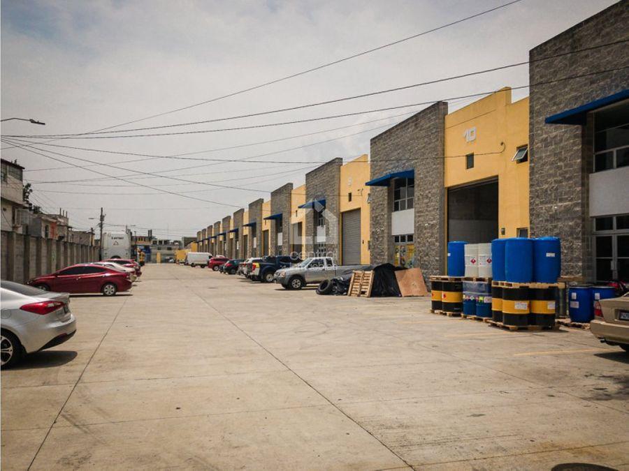 ofibodegas en punto centrico de villa nueva