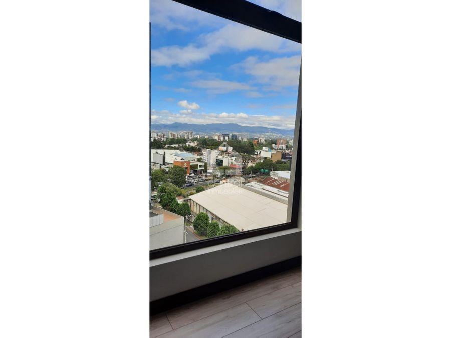 apartamento de 1 habitacion en venta en zona 10 venti4 zona pradera