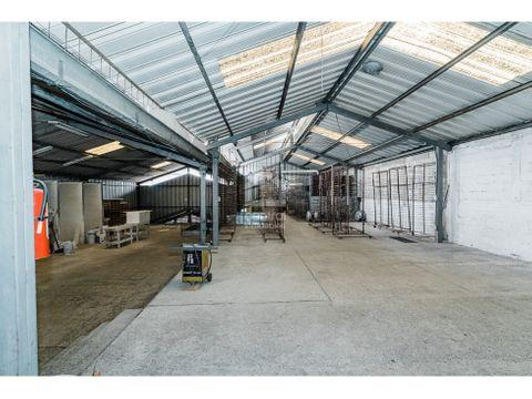 terrenos con instalaciones de bodega en venta pamplona zona 13