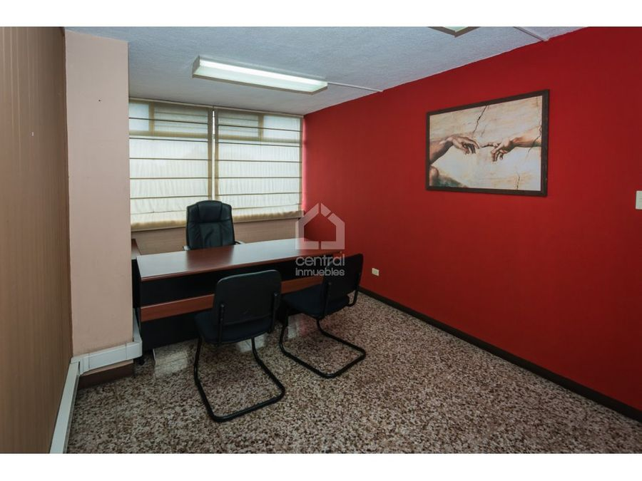 oficina en zona 9 plazuela espana