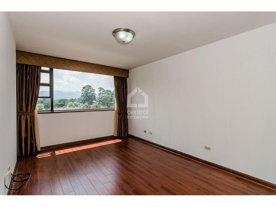 apartamento de dos habitaciones en renta zona 14