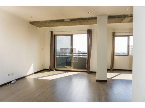 apartamento tipo estudio zona 10