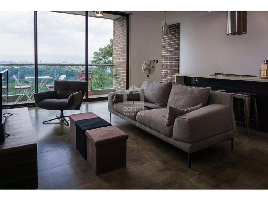 apartamento amueblado una habitacion en viu cayala zona 16