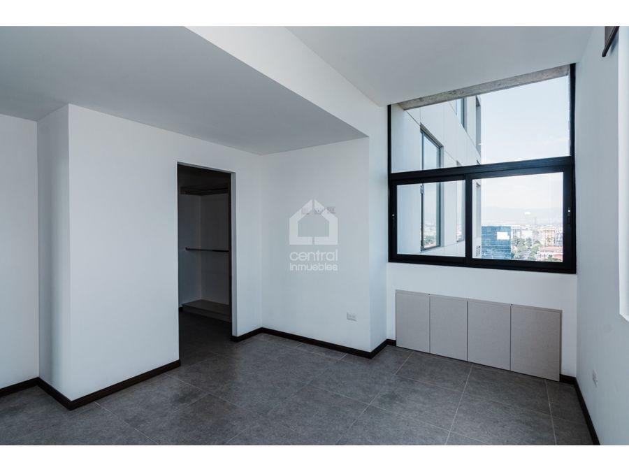 apartamento nuevo con dos habitaciones en mira zona 10