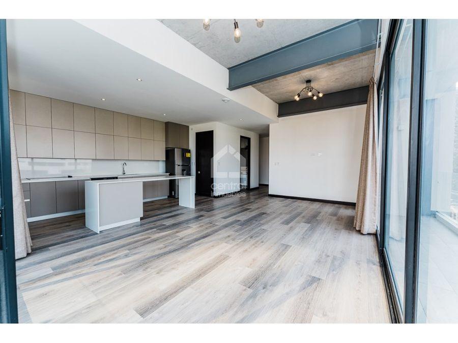 apartamento de 3 habitaciones nuevo en renta zona 14