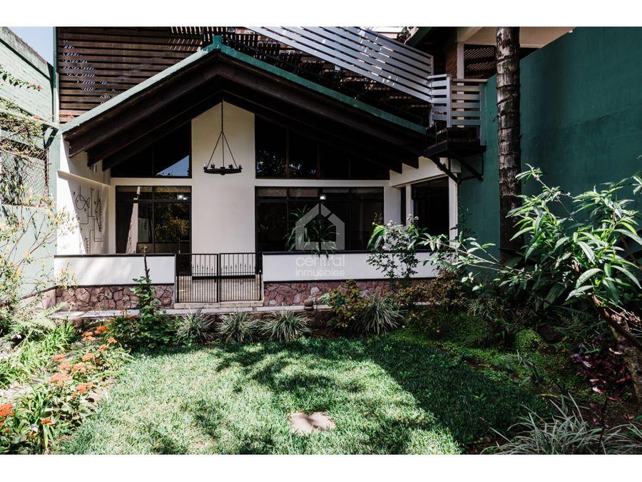 linda casa en alquiler fuera de garita en vista hermosa ii zona 15