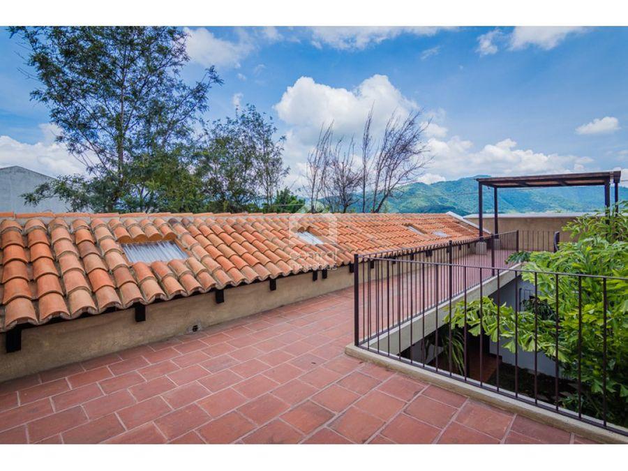 casa nueva de un nivel en venta cerca de antigua guatemala