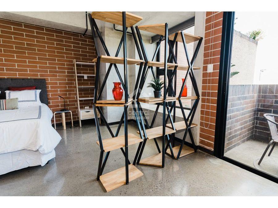 apartamento tipo estudio amueblado en renta 4 grados norte