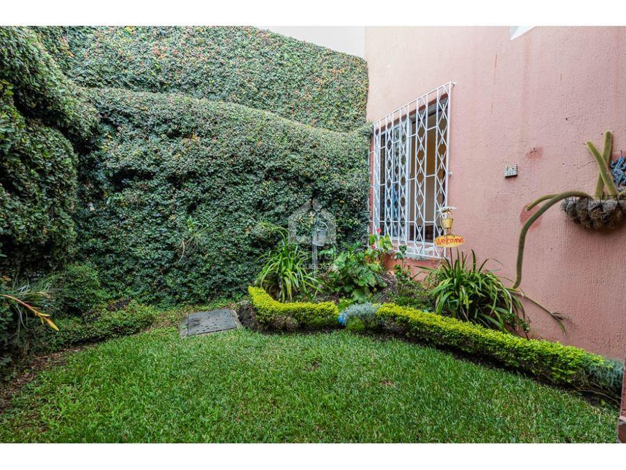casa con 4 habitaciones y jardin en venta lomas de san jacinto