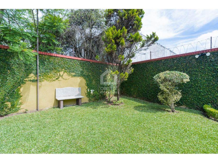 casa de 4 habitaciones con amplio jardin en villasol zona 12