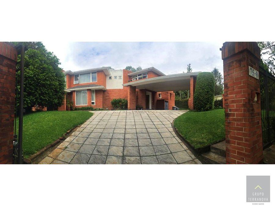 casa a la venta en condominio casa y campo