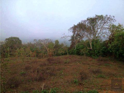 terreno en casco de moyuta