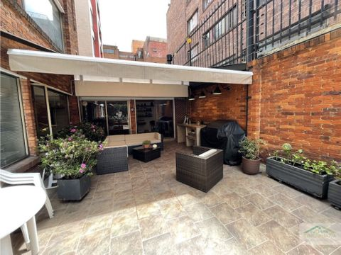 se arrienda magnifico apartamento con terraza en chico