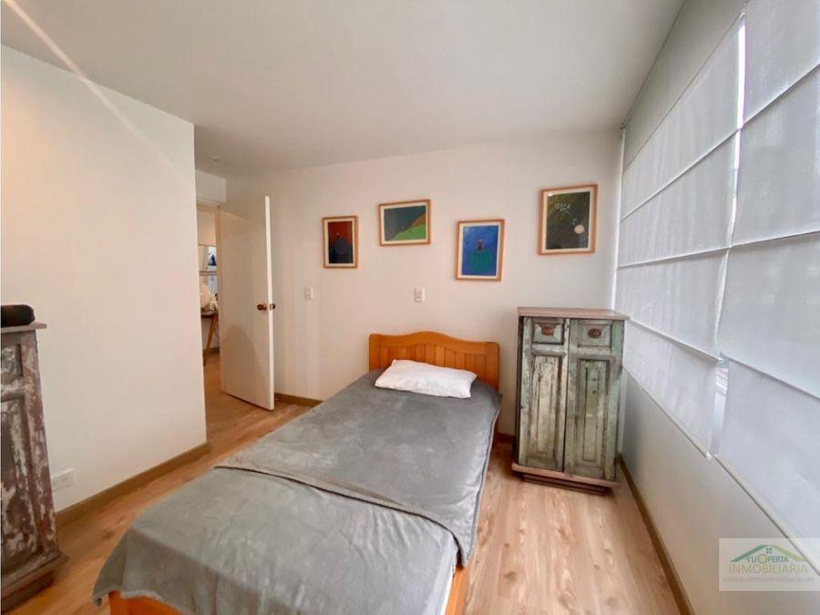 apartamento el nogal amoblado renta