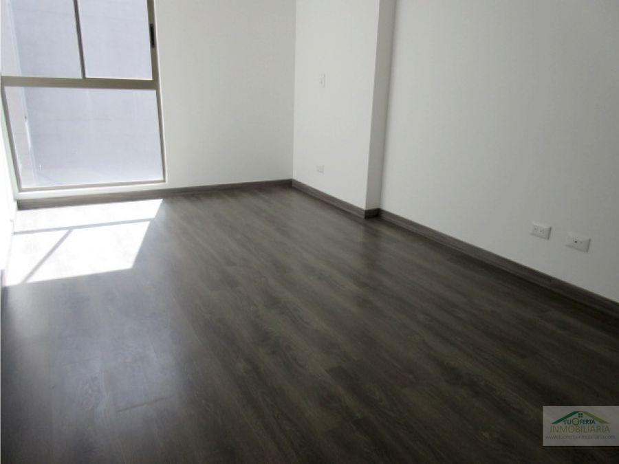 se vende lindo apartamento en cajica cuarto piso