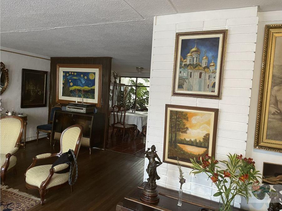 magnifica inversion se vende casa chapinero alto bogota