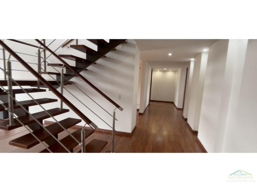 venta casa habitaciones en el primer piso chia