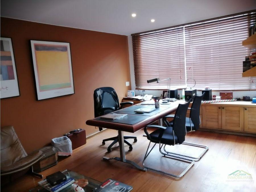 oficina remodelada en chico para arriendo