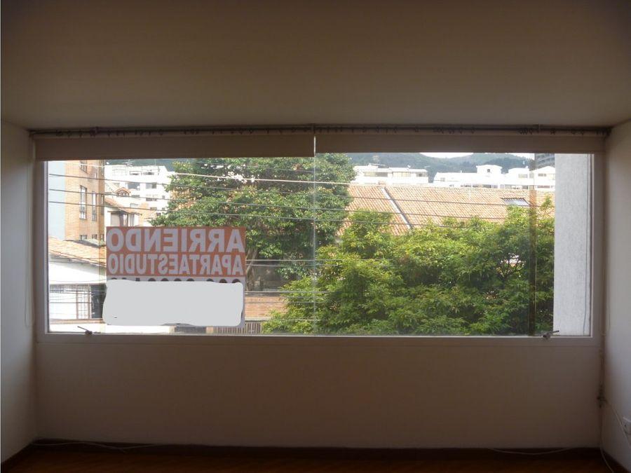 arriendo apartaestudio sta barabara 30 m2 exterior