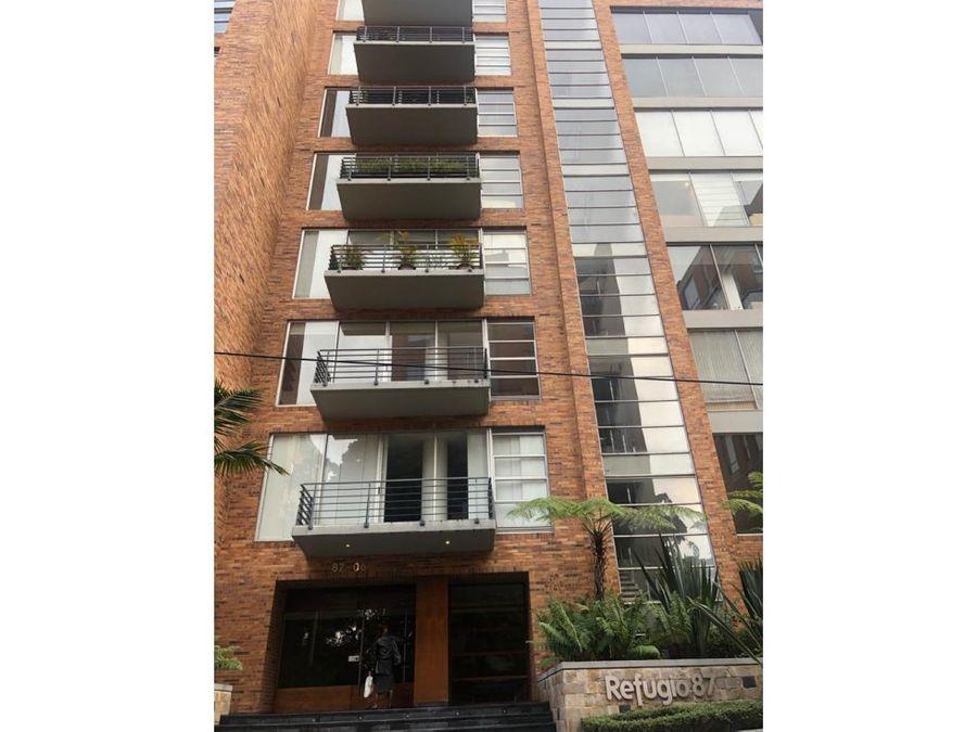 arriendo amoblado el refugio 185 m2 balcon 3h cu con bano