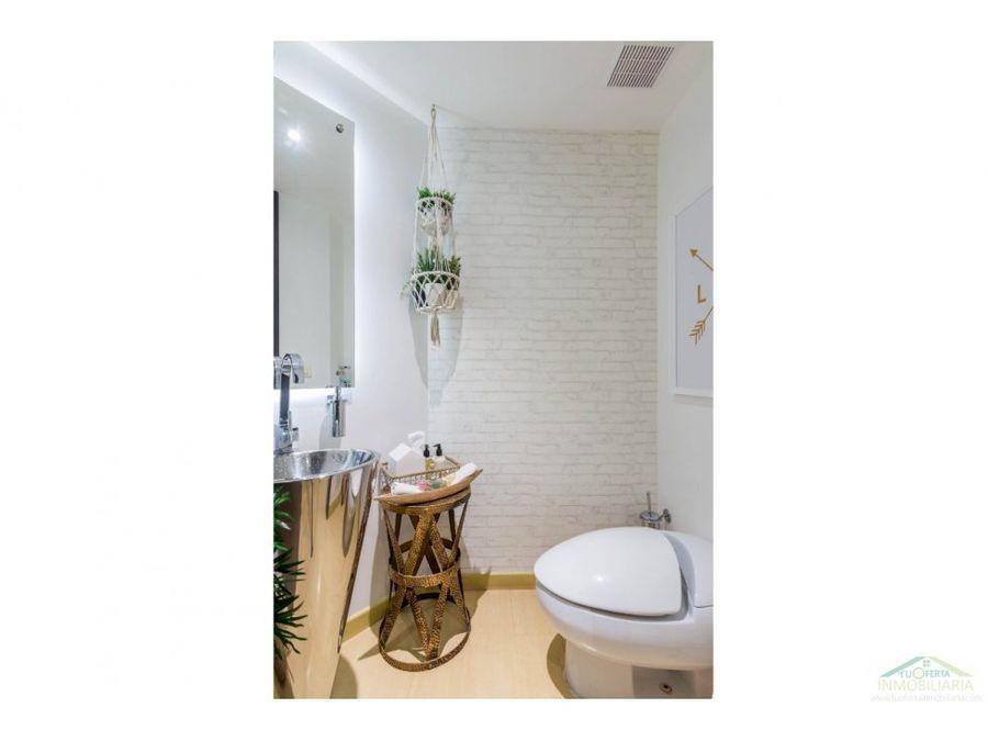 venta apto moderno remodelado con balcon santa barbara