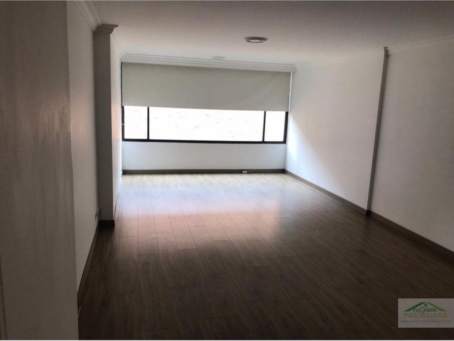 arriendo apto chico reservado 105 m2 piso 9