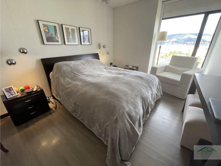 se vende apartamento con espectacular vista 360 en bogota