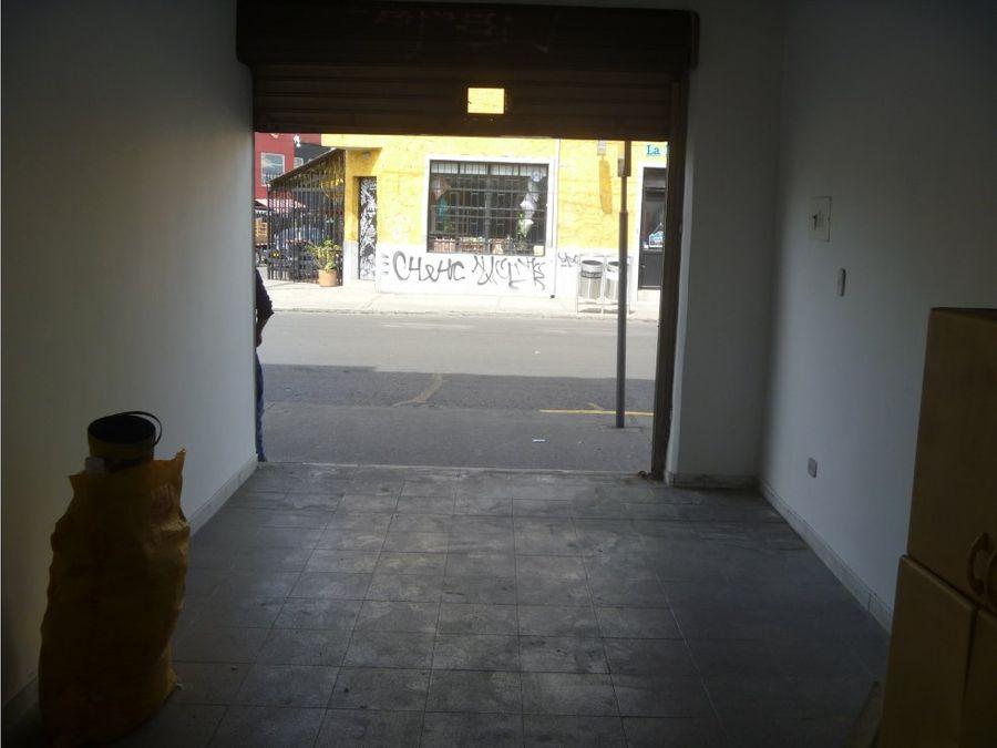 arriendo local 20 m2 chapinero barrios unidos