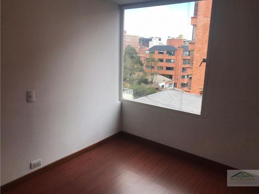 arriendo apto rosales 73 m2 2 habitaciones