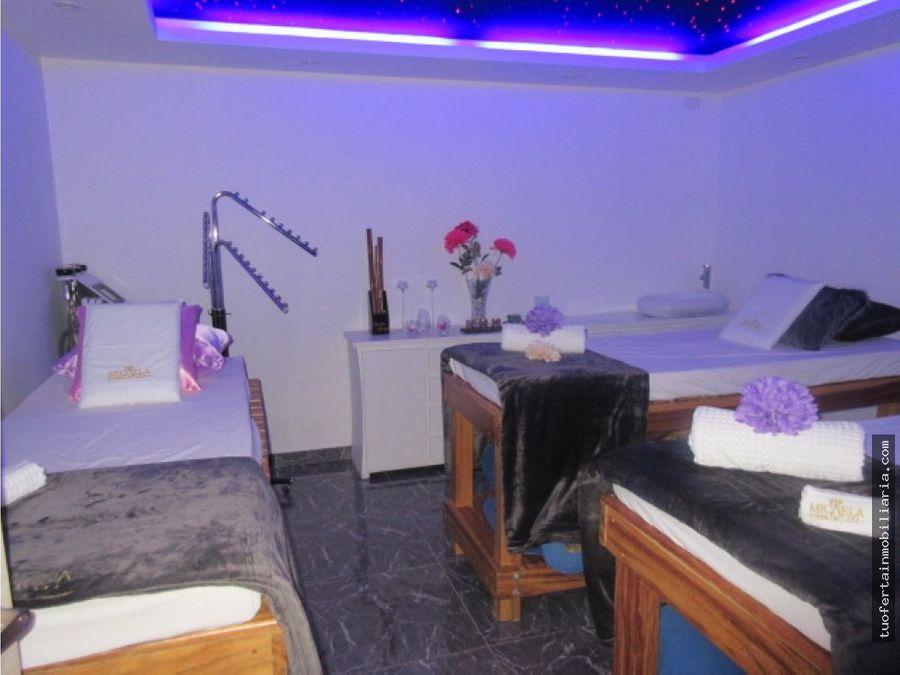 negocio muy rentable en venta spa salon de belleza