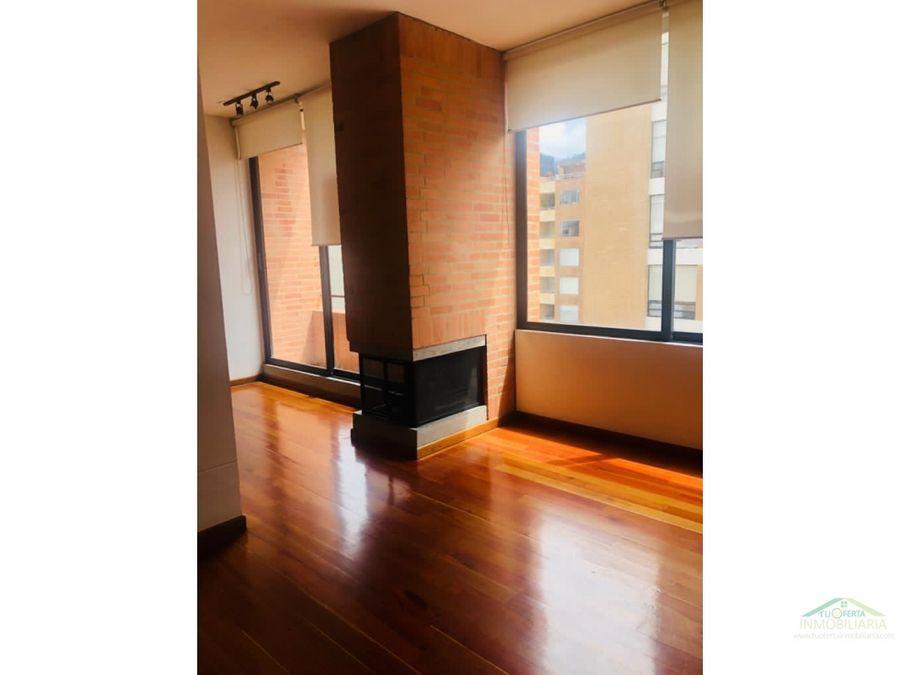 arriendo apartaestudio 66 m2 moderno chico reservado