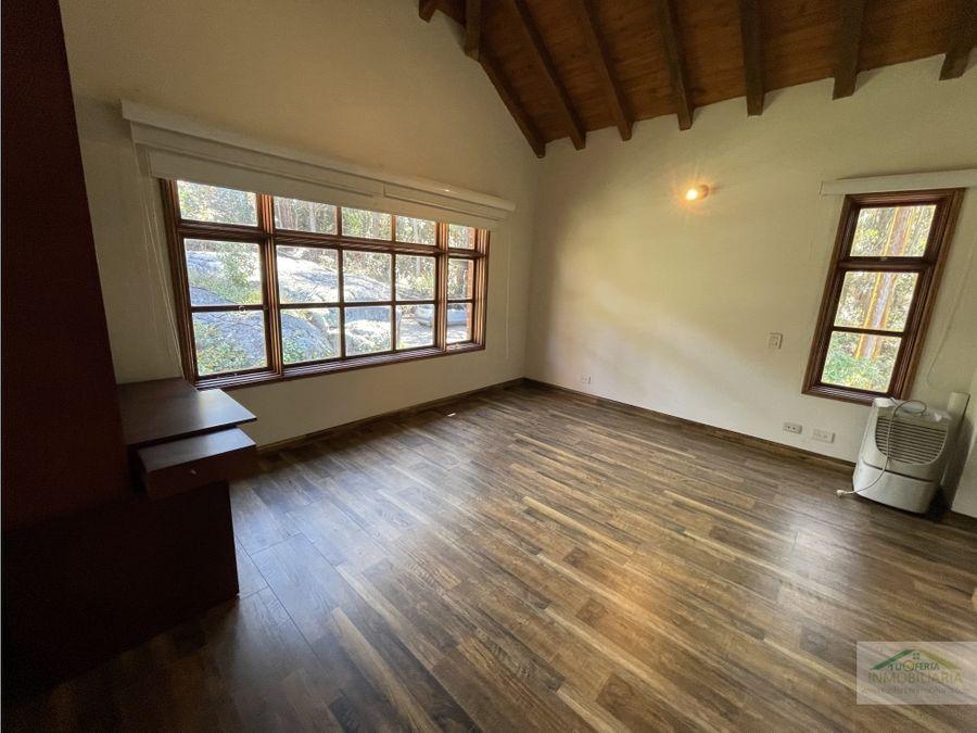 linda casa en las montanas chia disponibilidad inmediata