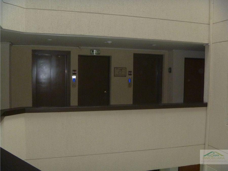 arriendo oficina 44 m2 en la carolina unicentro piso 3 exterior