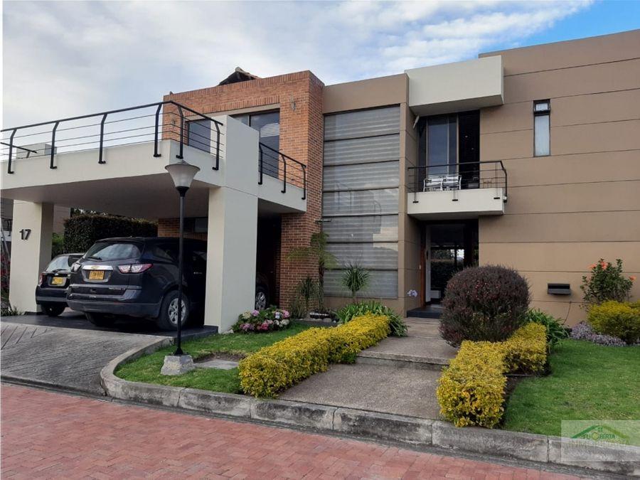 venta casa via chia cajica 290 mts 1050 millones