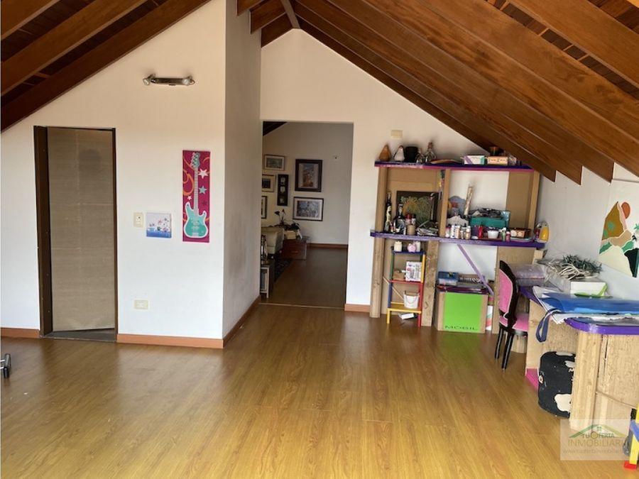 casa para venta de un piso mas altillo en sausalito cajica