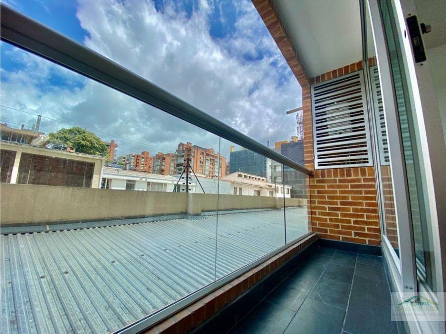 santa paula apartaestudio loft con balcon venta y arriendo