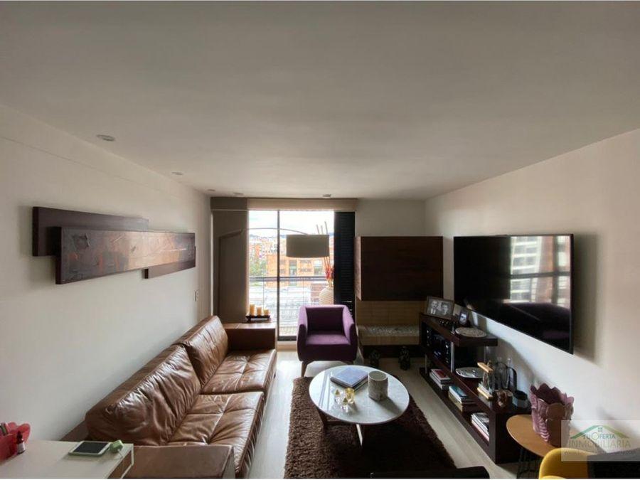 vendo apto cedritos 80 m2 2 habitaciones 2 banos como nuevo