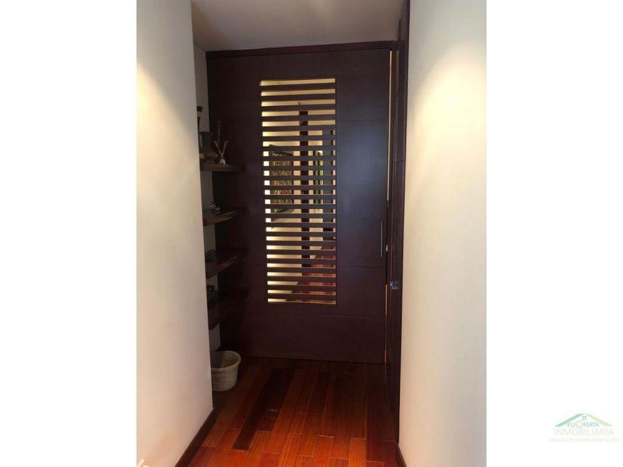 vendo apto el refugio 185 m2 piso 6 exterior balcon 3 hab cu con bano