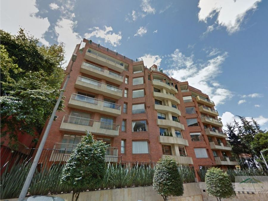 apartamento con terraza muy grande en nogal