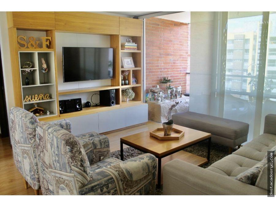hermoso apartamento en venta el el poblado castropol