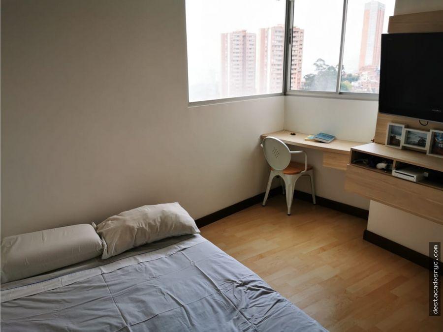 apartamento en venta en la loma del indio medellin
