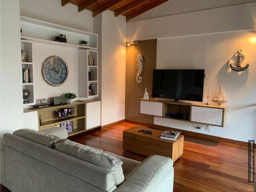 hermoso duplex en venta en envigado el escobero