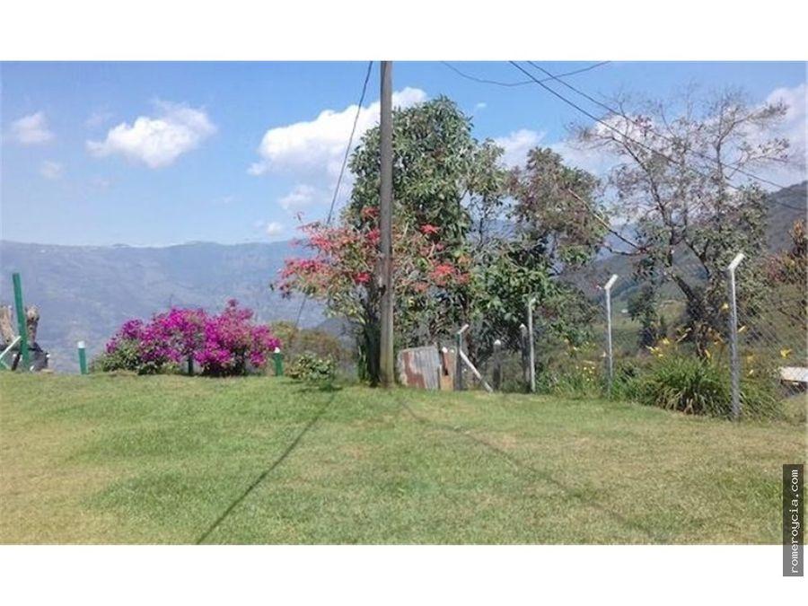 finca en venta alto la sierra copacabana