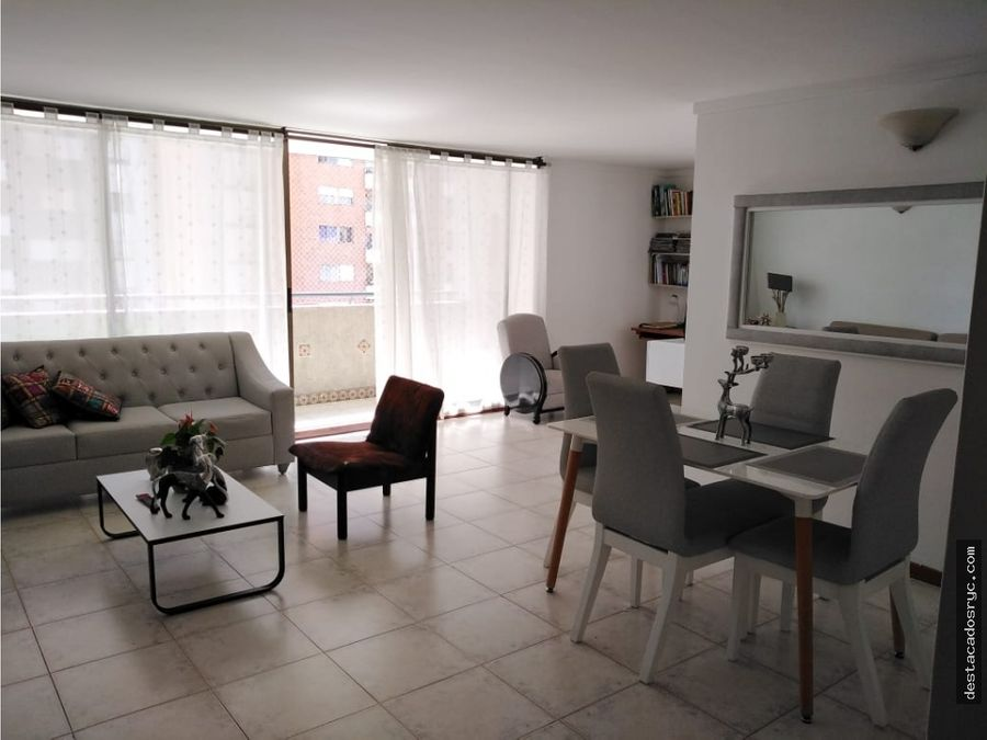 apartamento en venta en la loma de los bernal medellin