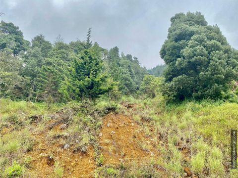 lote en venta en el poblado sector las palmas