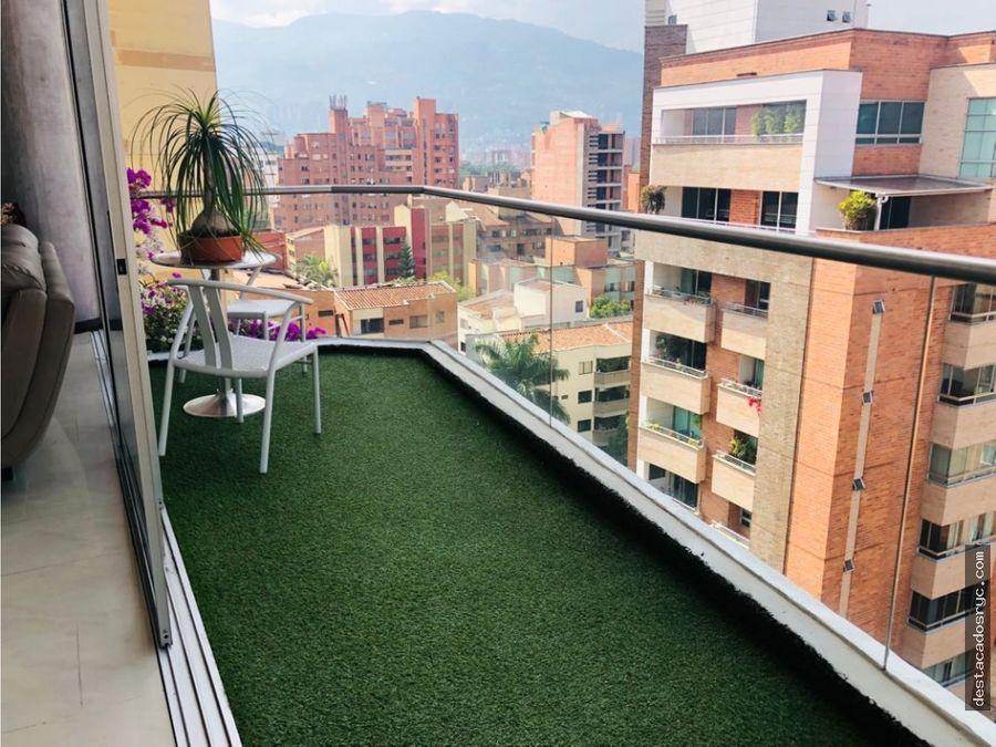 apartamento en venta en el poblado sector santa teresita laureles